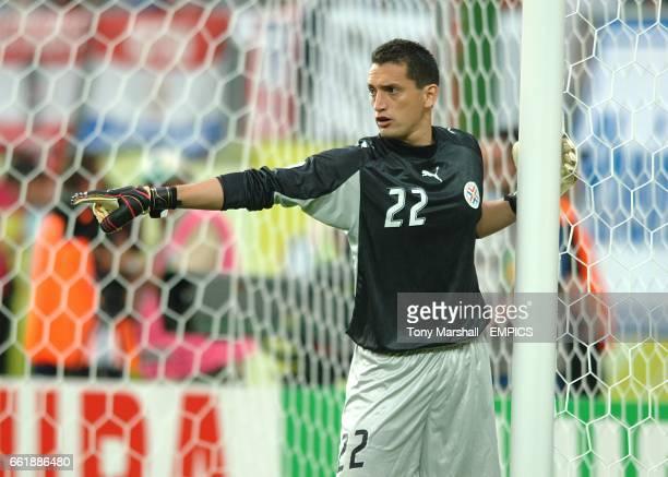 Aldo Bobadilla Paraguay goalkeeper