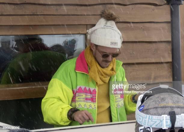 Aldo Comas attends Moet Winter Lounge In Baqueira ski resort on December 8 2017 in Baqueira Beret Spain