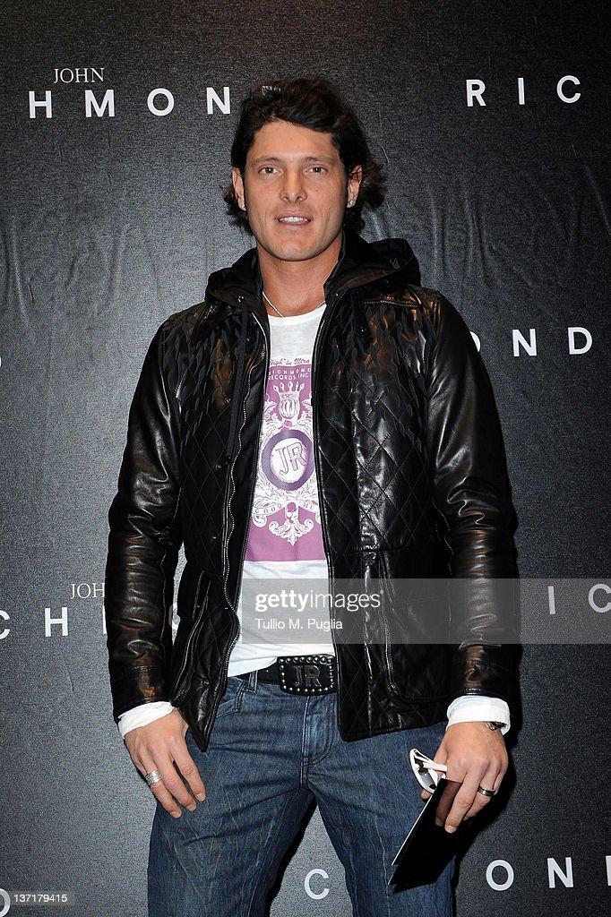 John Richmond - Arrivals - Milan Fashion Week Menswear Autumn/Winter 2012