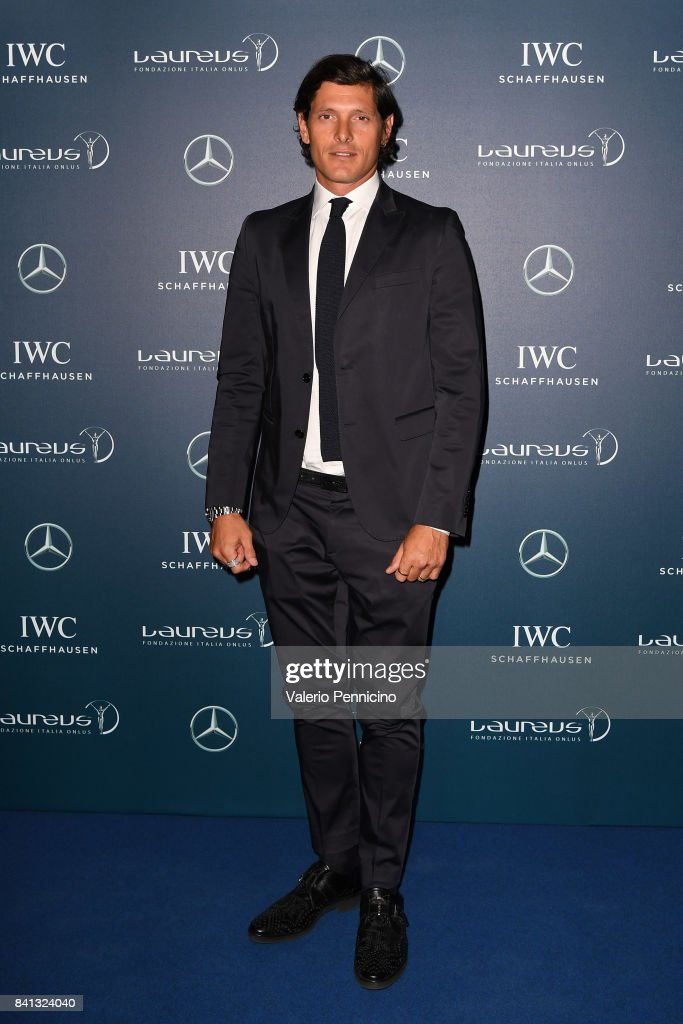 Aldo Montano attends during the Laureus F1 Charity Night at Teatro Vetra on August 31, 2017 in Milan, Italy.
