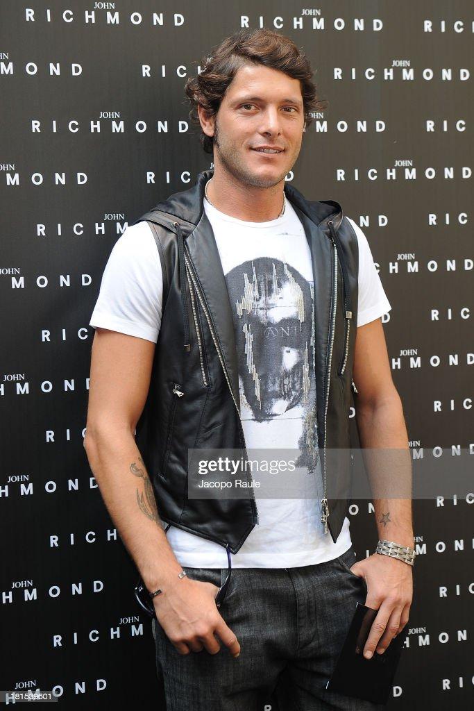 John Richmond Arrivals - Milan Fashion Week Womenswear Spring/Summer 2014