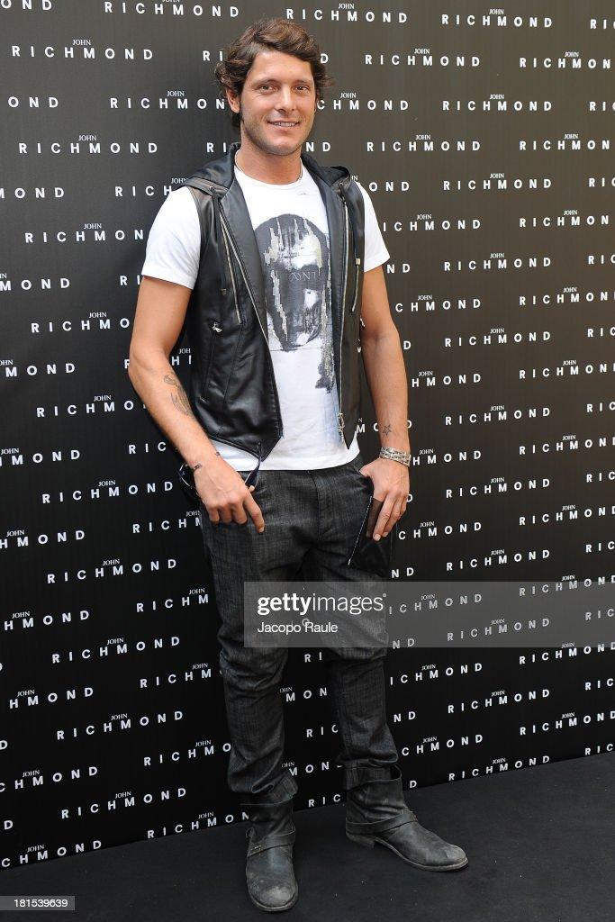 Aldo Montano attends John Richmond during Milan Fashion Week Womenswear Spring/Summer 2014 on September 22, 2013 in Milan, Italy.