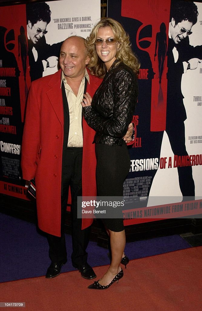 Aldo Zilli And Girlfriend, Confessions Of A Dangerous Mind The Movie That Marks The Directorial Debut.premiered In London Last Night.and The Party Was At Elyceum At The Cafe Royal