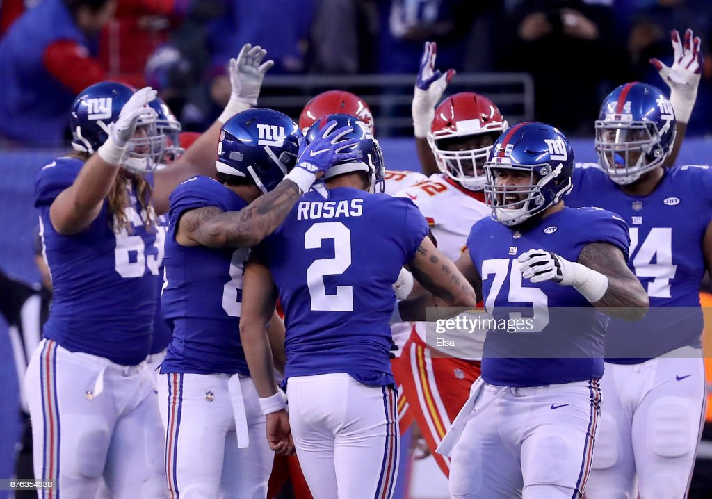 Kansas City Chiefs v New York Giants