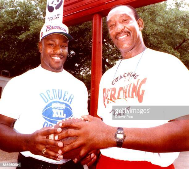 Aldridge Allen Jr Draft Pick with dad is described as a strong versatile athlete Credit The Denver Post