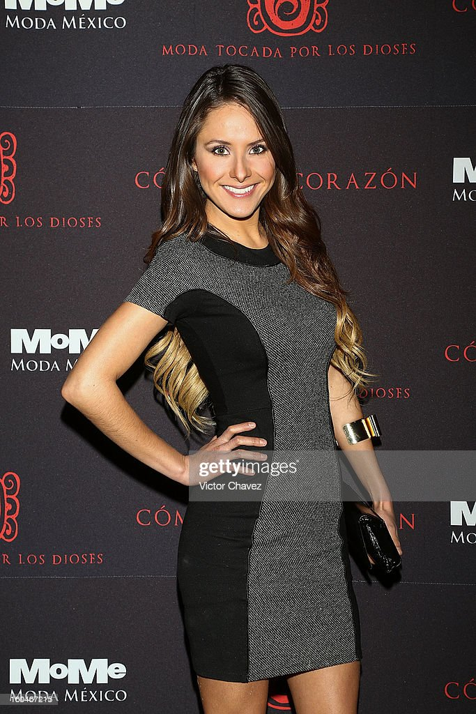 Ale Garcia attends the Comeme El corazon Moda Tocada Por Los Dioses event at Estacion Indianilla on January 31, 2013 in Mexico City, Mexico.