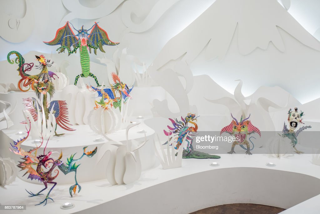 Alebrijes Figurine Production As Millions Flock To The Night Of The Alebrijes Parade