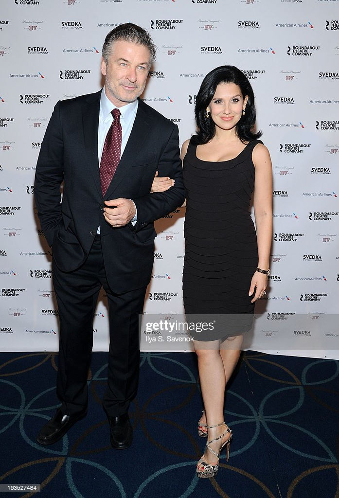 <a gi-track='captionPersonalityLinkClicked' href=/galleries/search?phrase=Alec+Baldwin&family=editorial&specificpeople=202864 ng-click='$event.stopPropagation()'>Alec Baldwin</a> and Hilaria Baldwin attend the 2013 Roundabout Theatre Company Spring Gala at Hammerstein Ballroom on March 11, 2013 in New York City.