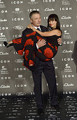Alec Baldwin and Hilaria Baldwin attend the 2014 Icon Magazine Awards ceremony at the Italian Consulate on October 1 2014 in Madrid Spain