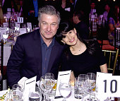 Alec Baldwin and Hilaria Baldwin attend the 6th Annual Bent On Learning Inspire Gala at Capitale on March 10 2015 in New York City