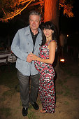 Alec Baldwin and Hilaria Baldwin attend the 'All My Sons' opening night performance at Guild Hall on June 13 2015 in East Hampton New York