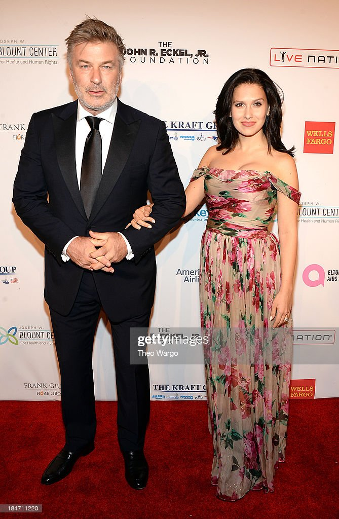 <a gi-track='captionPersonalityLinkClicked' href=/galleries/search?phrase=Alec+Baldwin&family=editorial&specificpeople=202864 ng-click='$event.stopPropagation()'>Alec Baldwin</a> and Hilaria Baldwin attends the Elton John AIDS Foundation's 12th Annual An Enduring Vision Benefit at Cipriani Wall Street on October 15, 2013 in New York City.
