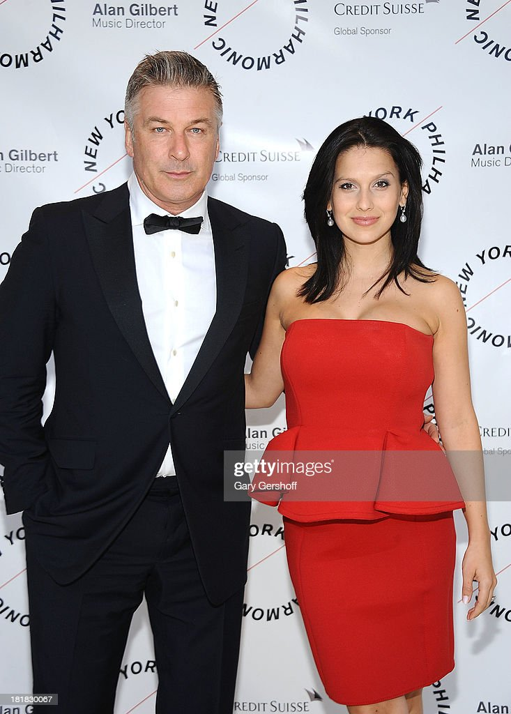 <a gi-track='captionPersonalityLinkClicked' href=/galleries/search?phrase=Alec+Baldwin&family=editorial&specificpeople=202864 ng-click='$event.stopPropagation()'>Alec Baldwin</a> (L) and Hilaria Thomas Baldwin attend the New York Philharmonic 172nd Season Opening Night Gala at Avery Fisher Hall, Lincoln Center on September 25, 2013 in New York City.