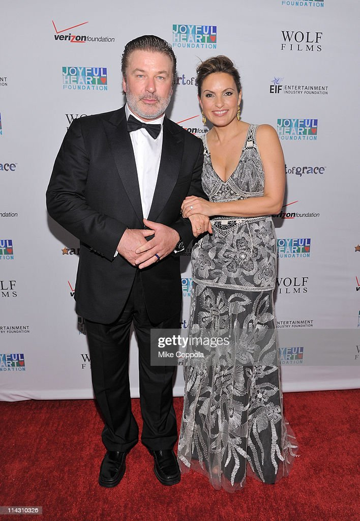 Alec Baldwin and Mariska Hargitay attend the 2011 Joyful Heart Foundation Gala at The Museum of Modern Art on May 17, 2011 in New York City.