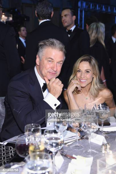 Alec Baldwin and Sheryl Crow attend the Elton John AIDS Foundation Commemorates Its 25th Year And Honors Founder Sir Elton John During New York Fall...