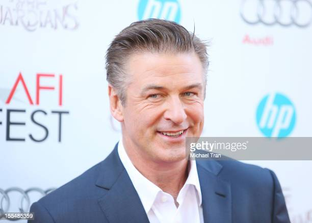 Alec Baldwin arrives at the 2012 AFI FEST 'Rise Of The Guardians' premiere held at Grauman's Chinese Theatre on November 4 2012 in Hollywood...