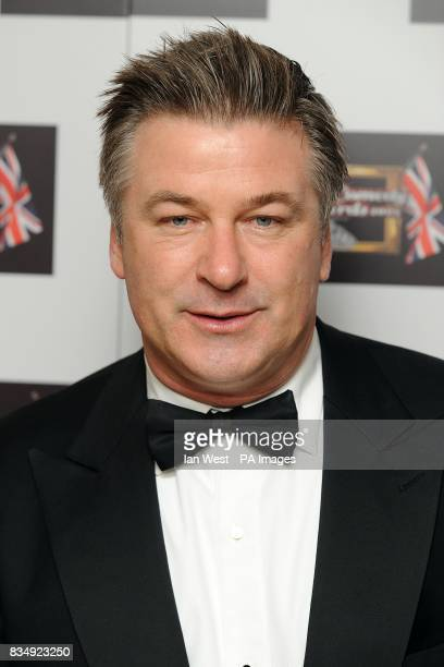 Alec Baldwin arrives for the British Comedy Awards 2008 at the ITV London Television Studios Upper Ground South Bank London