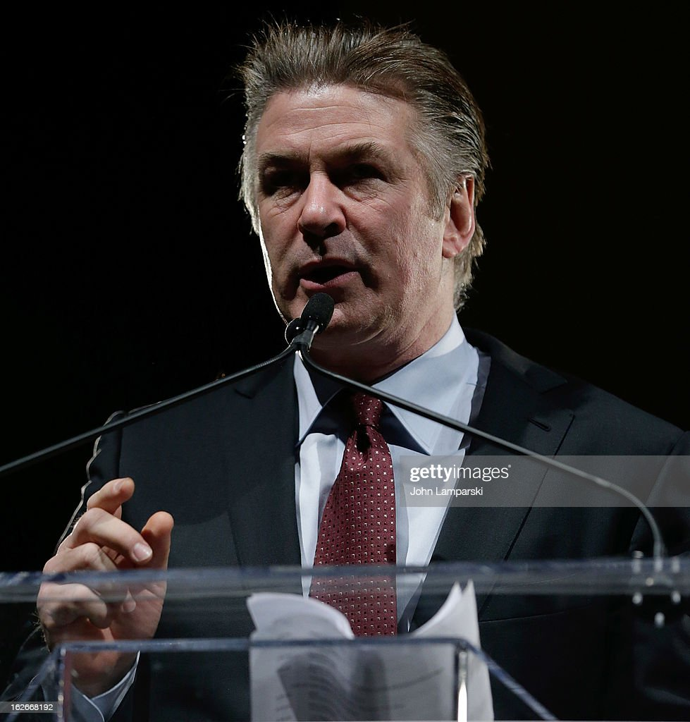Alec Baldwin attends the 2013 New Yorker For New York Gala at Gotham Hall on February 25, 2013 in New York City.