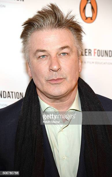 Alec Baldwin attends the Arthur Miller One Night 100 Years Benefit at Lyceum Theatre on January 25 2016 in New York City
