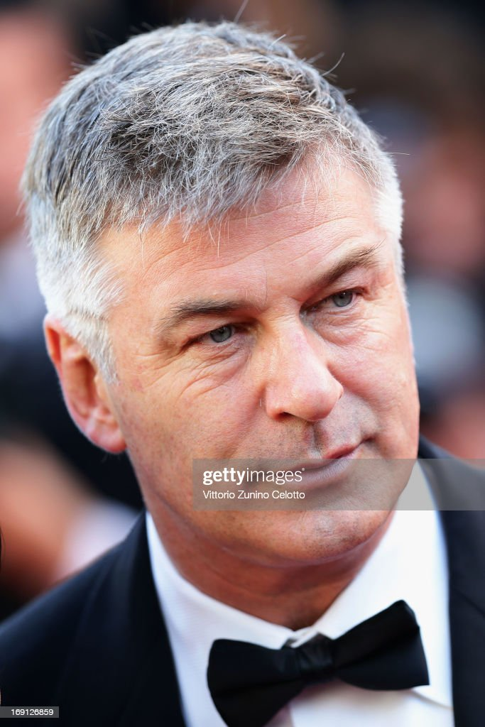 Alec Baldwin attends the 'Blood Ties' Premiere during the 66th Annual Cannes Film Festival at Grand Theatre Lumiere on May 20, 2013 in Cannes, France.