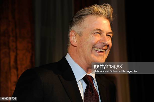 Alec Baldwin attends the Roundabout Theatre Company's 2017 Spring Gala at The Waldorf=Astoria on February 27 2017 in New York City