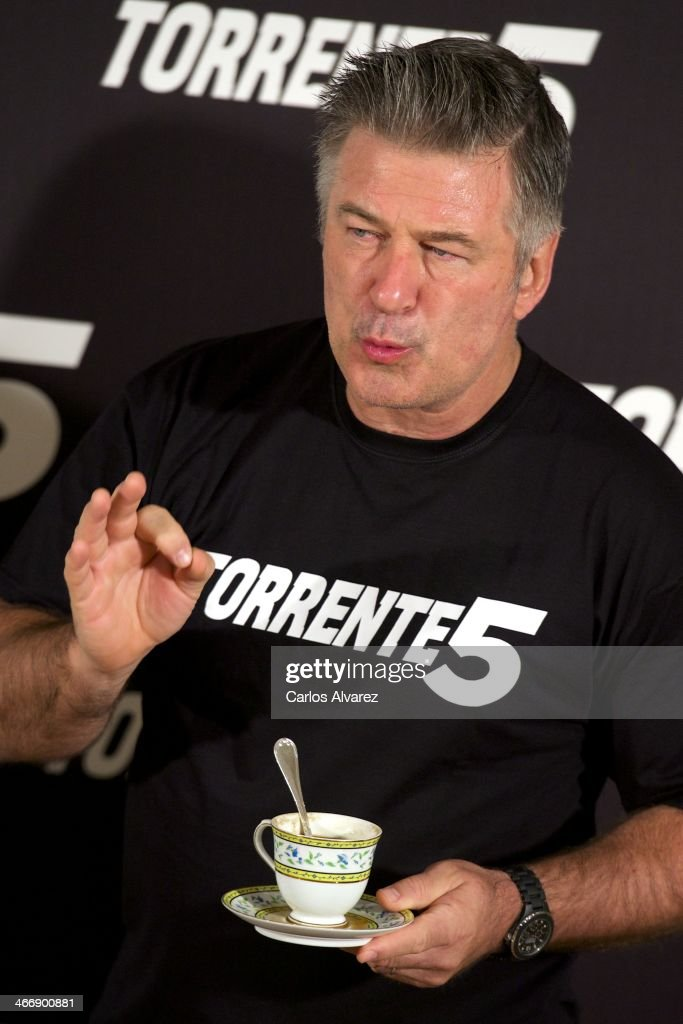 <a gi-track='captionPersonalityLinkClicked' href=/galleries/search?phrase=Alec+Baldwin&family=editorial&specificpeople=202864 ng-click='$event.stopPropagation()'>Alec Baldwin</a> attends the 'Torrente 5' photocall at the Ritz Hotel on February 5, 2014 in Madrid, Spain.