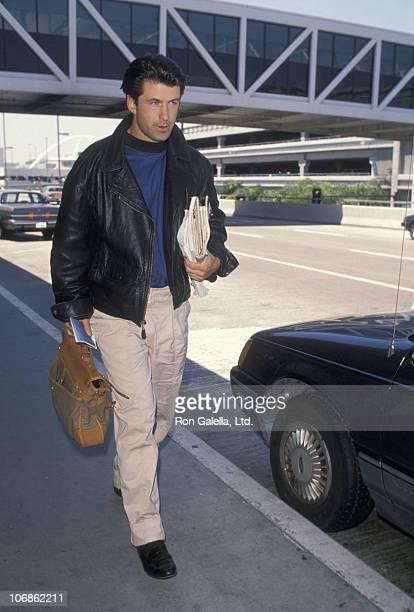 Alec Baldwin during Alec Baldwin and Kim Bassinger Sighting at Los Angeles International Airport May 22 1990 at Los Angeles International Airport in...