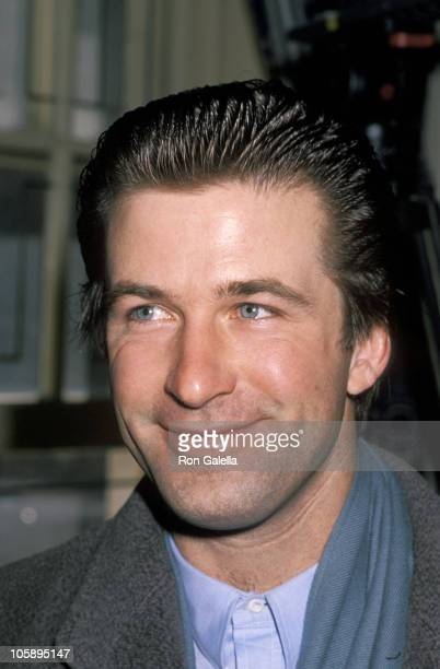 Alec Baldwin during 'Earth Day' Press Conference March 7 1990 at New York City Hall in New York City New York United States