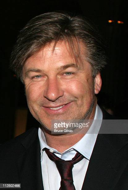 Alec Baldwin during 'Sweet Charity' Broadway Opening Night Curtain Call and After Party at The Al Hirshfeld Theater and Guastavino's in New York City...