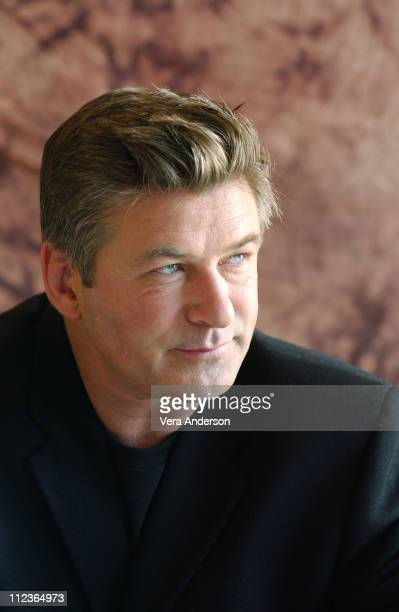 Alec Baldwin during 'The Cooler' Press Conference with Alec Baldwin at Century Plaza Hotel in Century City California United States