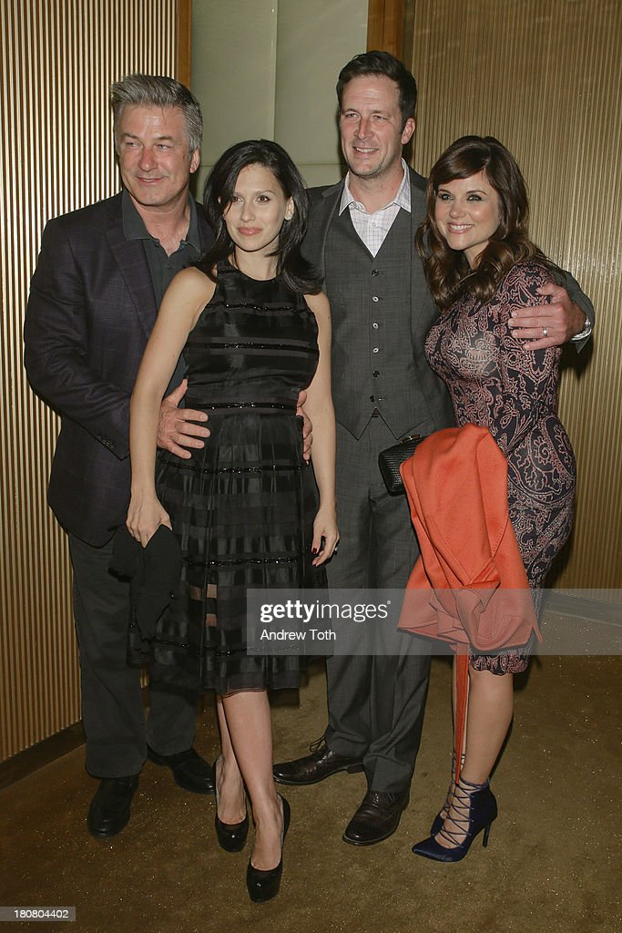 <a gi-track='captionPersonalityLinkClicked' href=/galleries/search?phrase=Alec+Baldwin&family=editorial&specificpeople=202864 ng-click='$event.stopPropagation()'>Alec Baldwin</a>, <a gi-track='captionPersonalityLinkClicked' href=/galleries/search?phrase=Hilaria+Thomas&family=editorial&specificpeople=7856471 ng-click='$event.stopPropagation()'>Hilaria Thomas</a>, <a gi-track='captionPersonalityLinkClicked' href=/galleries/search?phrase=Brady+Smith&family=editorial&specificpeople=223901 ng-click='$event.stopPropagation()'>Brady Smith</a> and <a gi-track='captionPersonalityLinkClicked' href=/galleries/search?phrase=Tiffani+Thiessen&family=editorial&specificpeople=221649 ng-click='$event.stopPropagation()'>Tiffani Thiessen</a> attend the NBC's 2013 Fall Launch Party hosted by Vanity Fair at The Standard Hotel on September 16, 2013 in New York City.