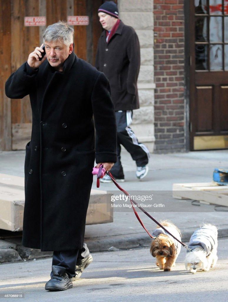 Alec Baldwin is seen on December 16, 2013 in New York City.