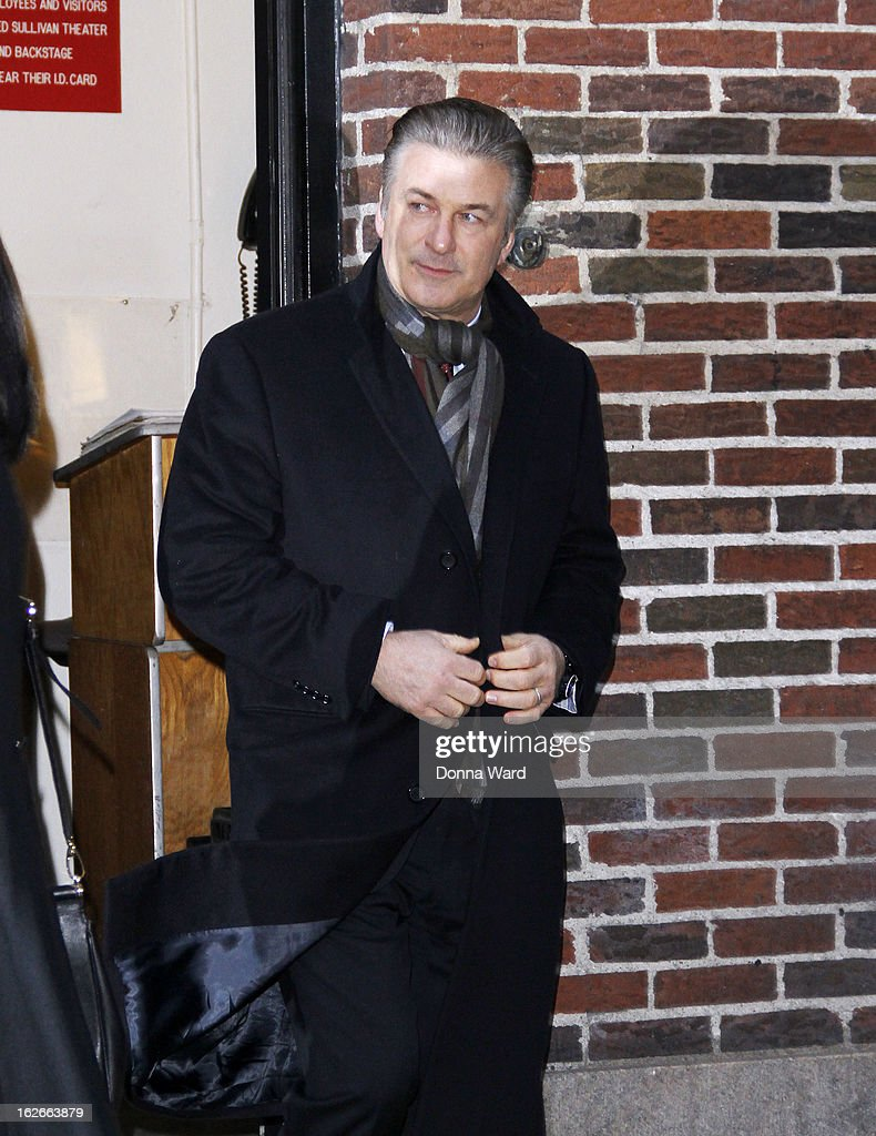 <a gi-track='captionPersonalityLinkClicked' href=/galleries/search?phrase=Alec+Baldwin&family=editorial&specificpeople=202864 ng-click='$event.stopPropagation()'>Alec Baldwin</a> leaves the 'Late Show with David Letterman' at Ed Sullivan Theater on February 25, 2013 in New York City.