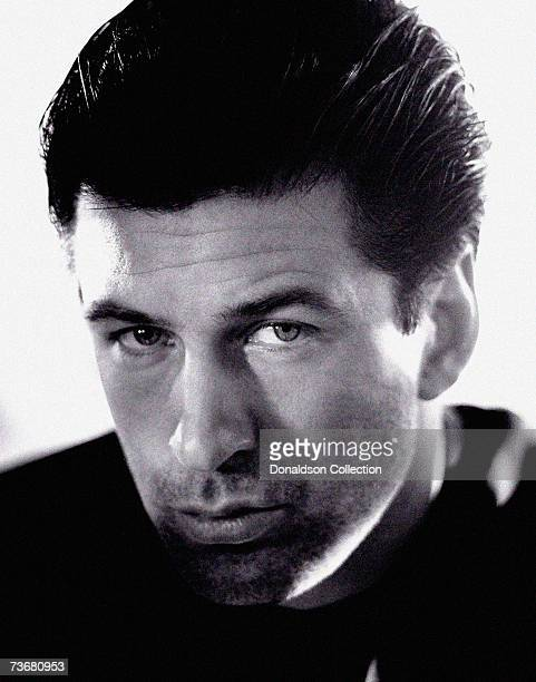 Alec Baldwin poses for a photoshoot in 1988 in New York City