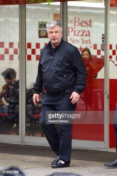 Alec Baldwin seen in Manhattan on April 26 2017 in New York City