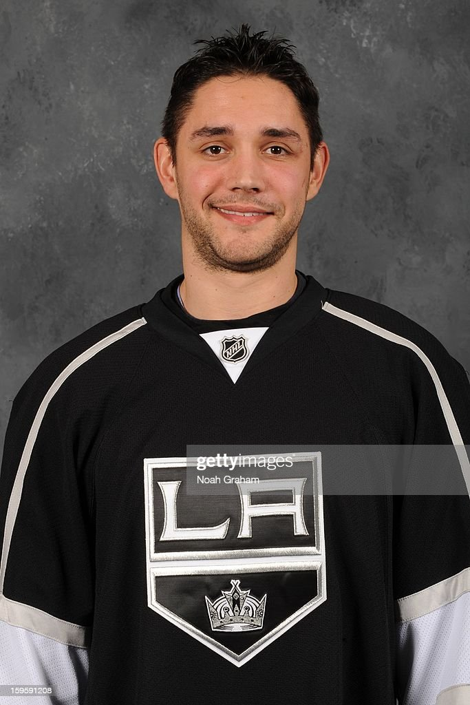 Alec Martinez #27 of the Los Angeles Kings poses for his official headshot for the 2012-2013 season on January 12, 2013 at Staples Center in Los Angeles, California.
