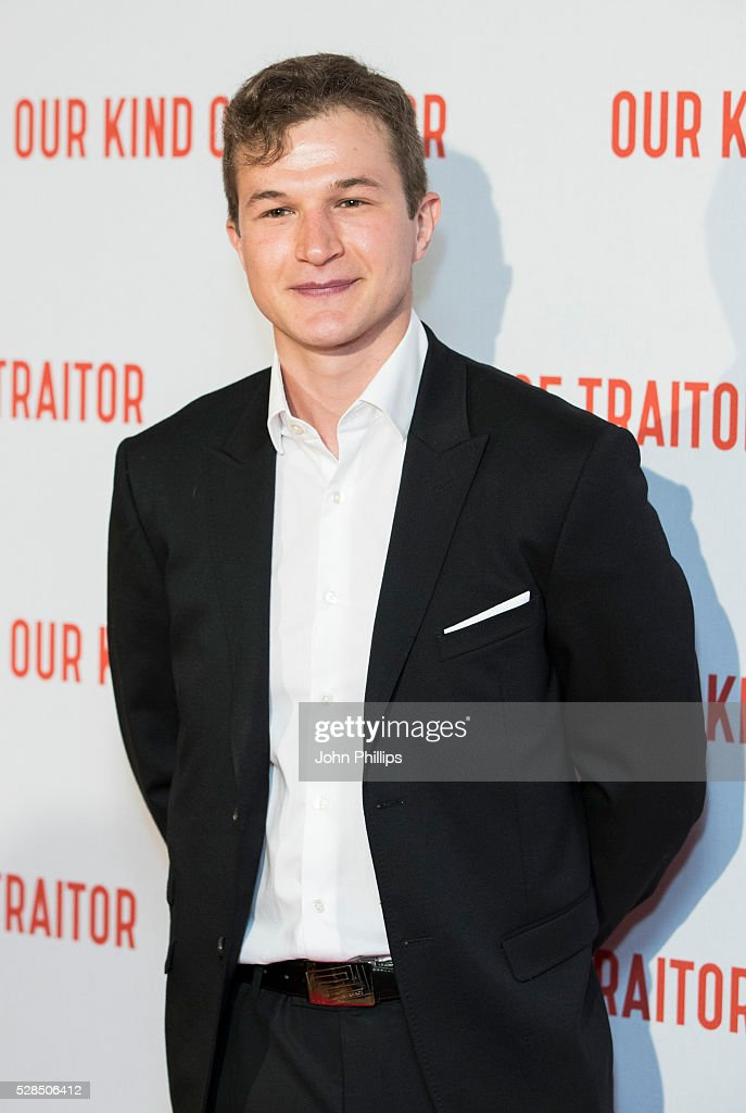 Alec Utgoff arrives for the UK Gala of 'Our Kind Of Traitor' at The Curzon Mayfair on May 5, 2016 in London, England.