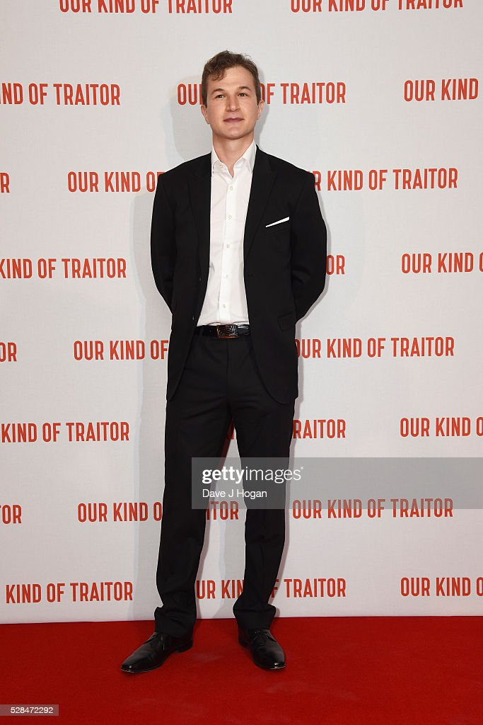 Alec Utgoff arrives for the UK Gala Screening of 'Our Kind Of Traitor' at The Curzon Mayfair on May 5, 2016 in London, England.