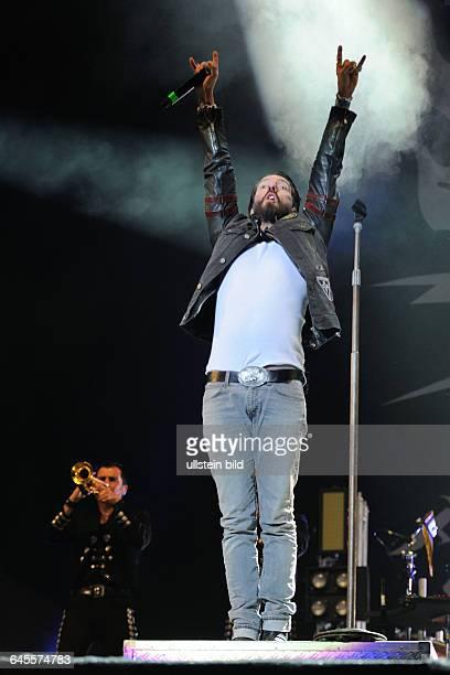 Alec Völkel während des WackenOpenAir Festivals 2015