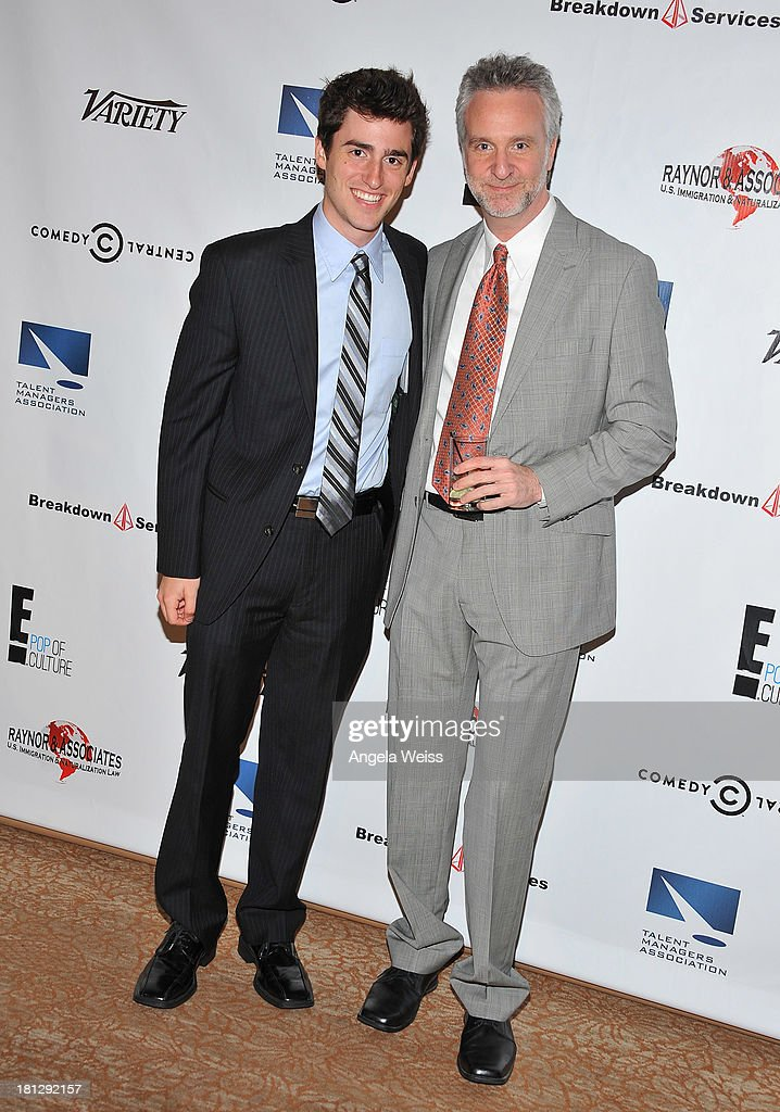 Alec Ziff and David Ziff attend the 12th Annual Heller Awards at The Beverly Hilton Hotel on September 19, 2013 in Beverly Hills, California.