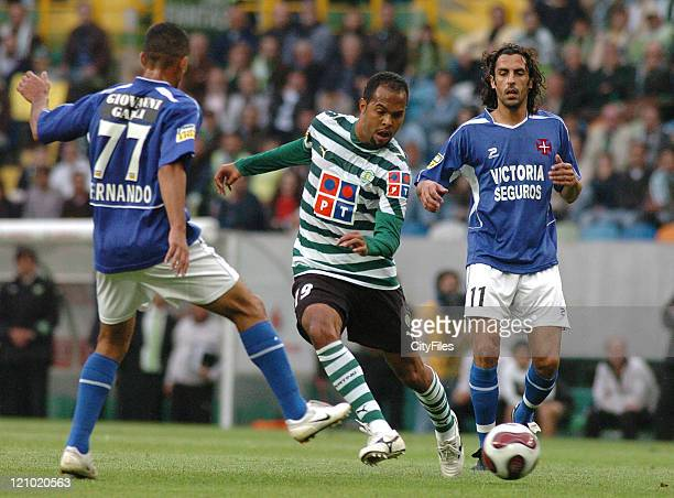 Alecsandro during a Portuguese League match between Sporting and Belenenses in Lisbon Portugal on May 20 2007