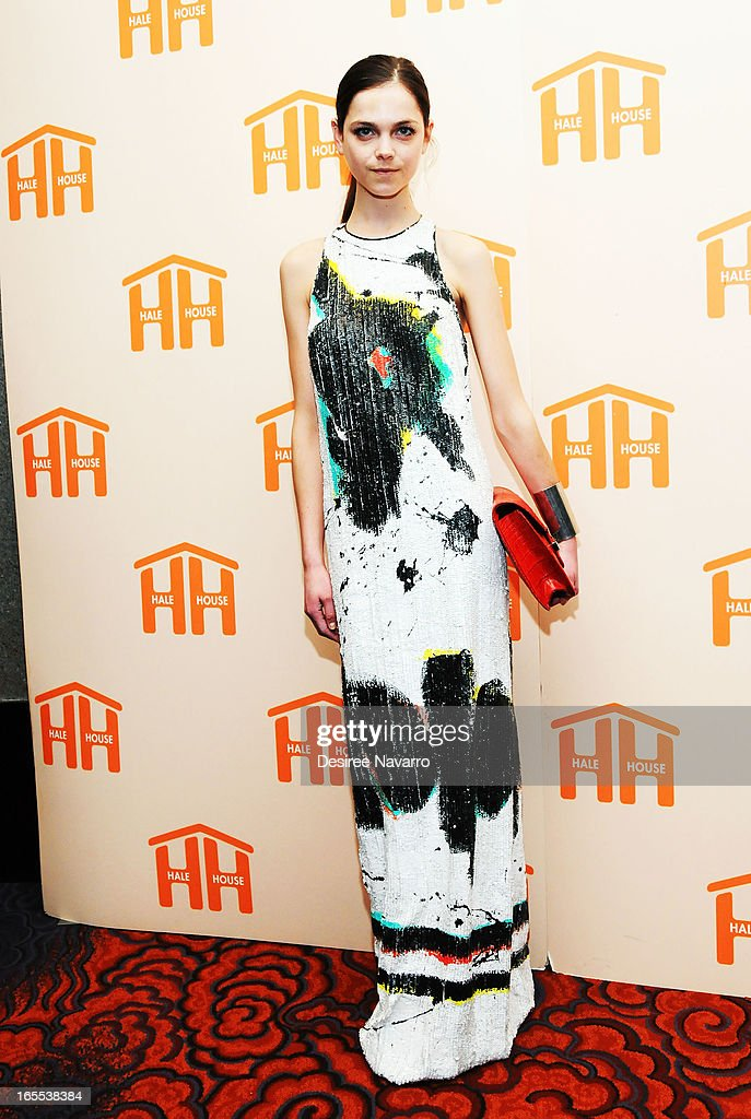 Alecta Hill attends the 2013 Hale House Spring Gala at Mandarin Oriental Hotel on April 3, 2013 in New York City.