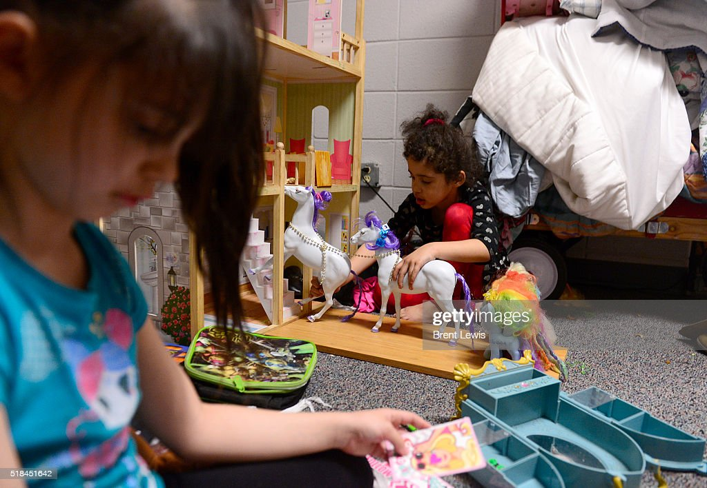 Aleiah Chavez Plays In A Dollhouse While Her Sister, Ariana Lays Out... Pictures