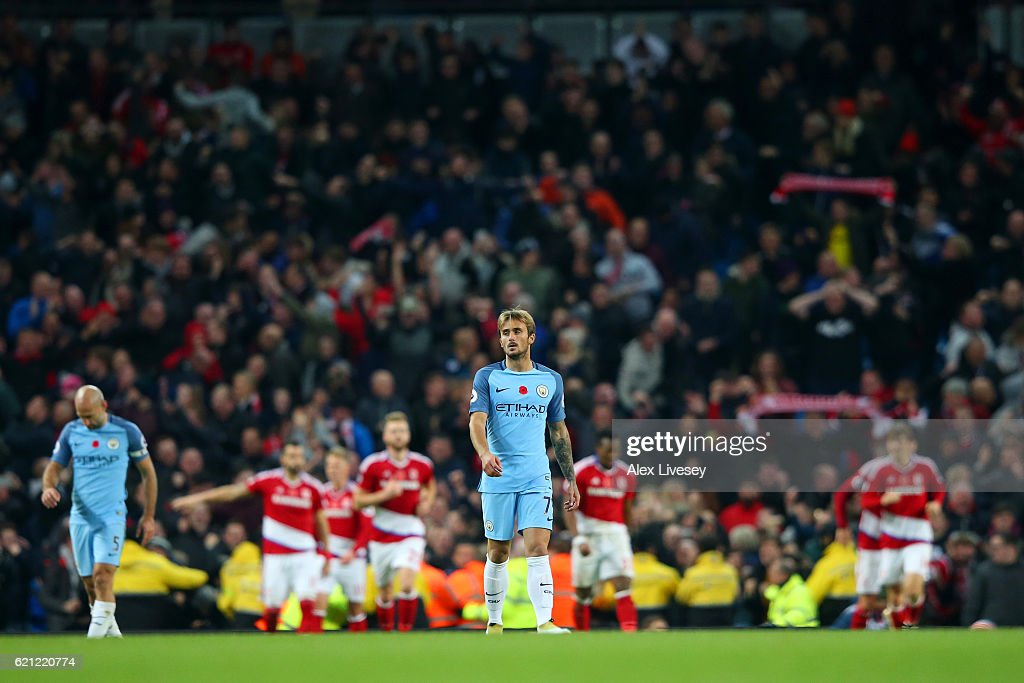 Manchester City v Middlesbrough - Premier League