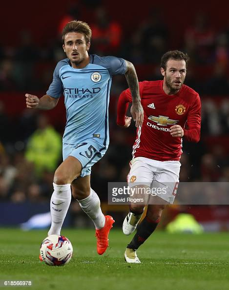 Manchester United v Manchester City - EFL Cup Fourth Round : ニュース写真