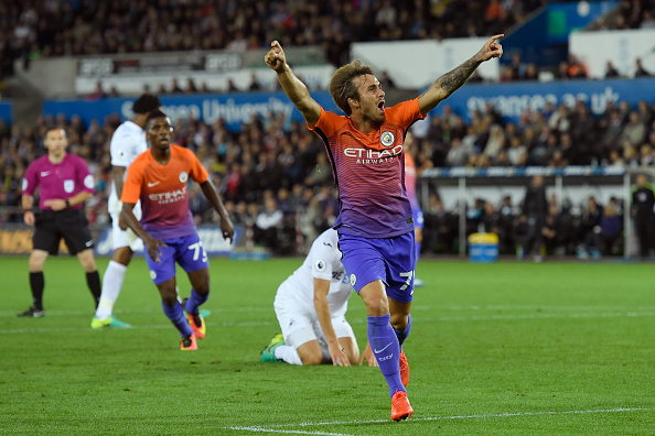 Swansea City v Manchester City - EFL Cup Third Round : News Photo