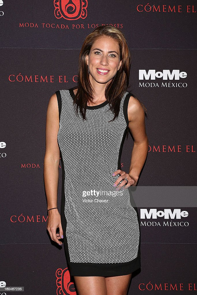 Alejandra Adame attends the Comeme El corazon Moda Tocada Por Los Dioses event at Estacion Indianilla on January 31, 2013 in Mexico City, Mexico.