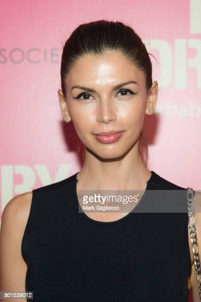 Alejandra Cata attends TriStar Pictures The Cinema Society and Avion's screening of 'Baby Driver' at The Metrograph on June 26 2017 in New York City