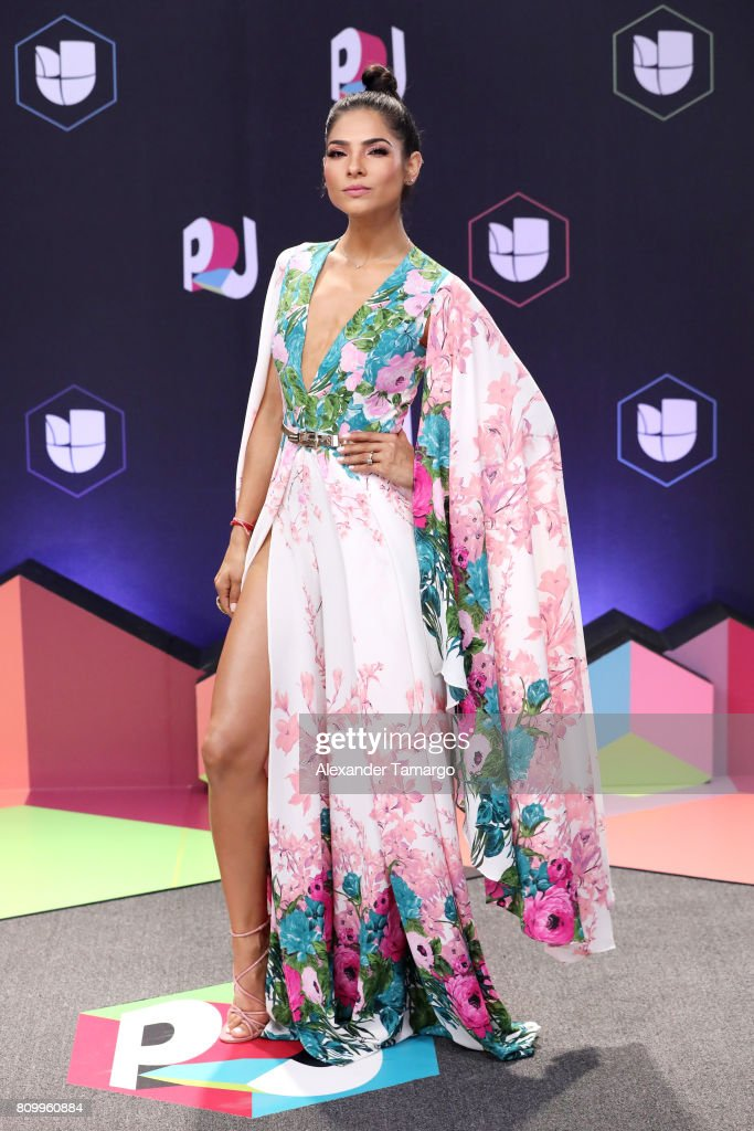 Alejandra Espinoza attends the Univision's 'Premios Juventud' 2017 Celebrates The Hottest Musical Artists And Young Latinos Change-Makers at Watsco Center on July 6, 2017 in Coral Gables, Florida.