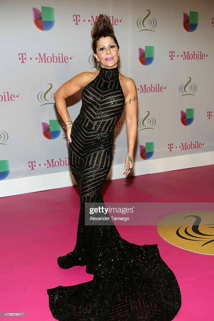 <a gi-track='captionPersonalityLinkClicked' href=/galleries/search?phrase=Alejandra+Guzman&family=editorial&specificpeople=217794 ng-click='$event.stopPropagation()'>Alejandra Guzman</a> attends Premio Lo Nuestro a la Musica Latina 2014 at American Airlines Arena on February 20, 2014 in Miami, Florida.
